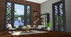 Simsational designs: City Living Window and Door Addons • Sims 4 Downloads