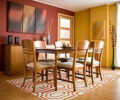 Versatile geometric-patterned Hudson Park rug from Surya designed by @Angelo Surmelis