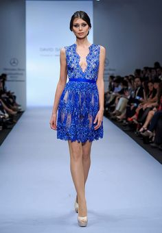 David Salomon - Pasarela O/I 2014 Love the color!