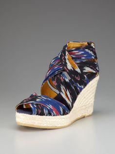 Mykonos Espadrille Wedge Sandal