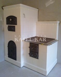 Kuchnia kaflowa Stove Fireplace, Rocket Stoves, Natural Building, Hobbit, Indoor, Architecture, Wood, Kitchen, House