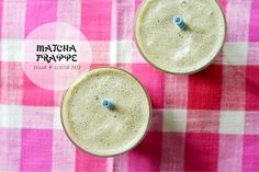 Summer Superfood Refreshers: Matcha Frappe