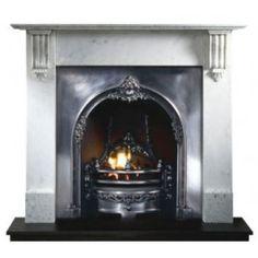 "Gallery Richmond 54"" Marble Fireplace Surround"