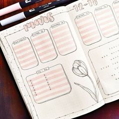15 Incredibly Beautiful Weekly Spreads. Spread by @ifyoucoulddomagic