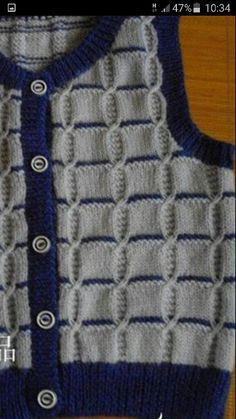Navy n grey sweater sleeveless