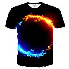 Global Online Shopping for Dresses, Home & Garden, Electronics, Wedding Apparel Online Shopping, 3d T Shirts, Plus Size T Shirts, Plus Size Casual, Animal Fashion, Herren T Shirt, Street Chic, Printed Shorts, Colorful Shirts