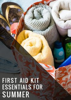 Make a Beach Bag First Aid Kit - Henry Happened