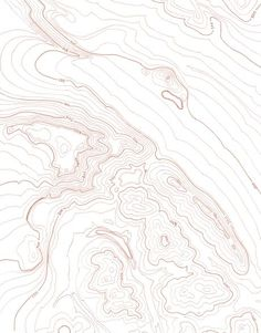 Contour, topography, simple, light, design for a print, textured, thick and thin lines