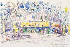 Paul Signac - Maison de Van Gogh 1933