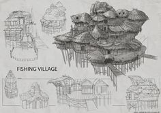 Entertainment designs by piyachat sornpaisarn game design document, environmental design, game concept, drawing Easy Vegetarian Lunch, Healthy Dinner Recipes, Game Design Document, Chicken And Shrimp Recipes, Game Concept, Environmental Design, Cat Treats, Entertaining, Artworks