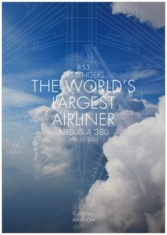 AVIATION – Airplane by Caroline Grohs, via Behance