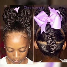 Little Black Girls Hairstyles Holiday Hairstyles For Little Black Girls  Cutest Kids  Pinterest