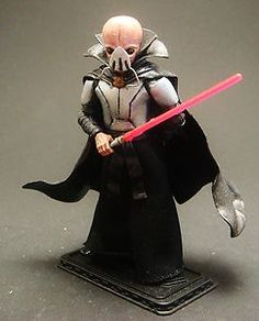 Star Wars Custom Sith Lord Darth Tenebrous Action Figure Vintage Collection | eBay