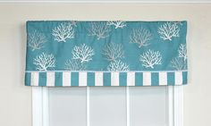teal valance - Google Search