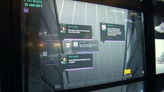 Virtual Footwear wall #adidas #intel @hypness.com.br
