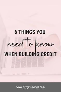 #Credit is a necessary part of life. Unfortunately, it is rarely taught in grade school or college! Whether you are just starting out building your credit or looking to repair it, there are some need-to-know #creditbuilding basics that you should be keeping in mind. #financecoach