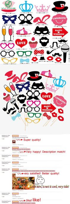 Mustache On A Stick Wedding Party Photo Booth Props Photobooth Funny Masks Bridesmaid Gifts Prop Lips For Wedding Decoration $7.65