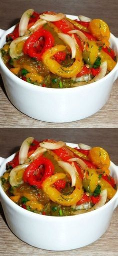Coleslaw, Ratatouille, Casserole Recipes, Bagel, Allrecipes, Pickles, Food And Drink, Veggies, Appetizers