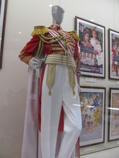 Oscar's costume from the Takarazuka version of Rose of Versailles (『ベルサイユのばら』)