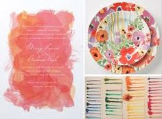 wedding-watercolor-invites - Google Search
