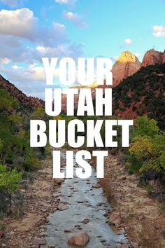 Whether you've lived in Utah your whole life, moved here recently, or have been planning your next vacation to the Beehive state, you have a plethora of options and activities at your fingertips. Utah is full of incredible hikes, gorgeous sites, and tons of adventures just waiting for you! We've gathered together some of our …