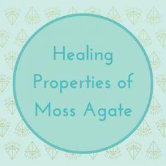 Moss agate helps to balance the chakras, promote spiritual growth and heal the physical body, and so much more...   Read the full post on the healing properties of moss agate here: https://loveandlightschool.com/healing-properties-moss-agate/