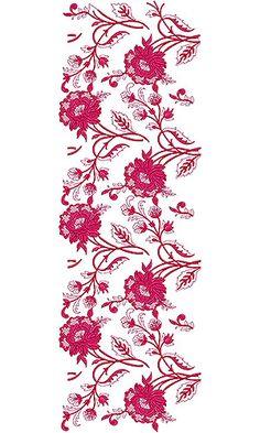 Textile Trendy Garment Embroidery Design