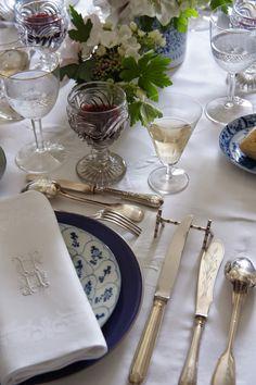 marie paule faure petite leon dart de la table 2 - Dressage De Table A La Francaise
