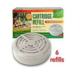 Bug Band Insect Repellent Diffuser Refill Cartridges 6 ea *** Click on the image for additional details.