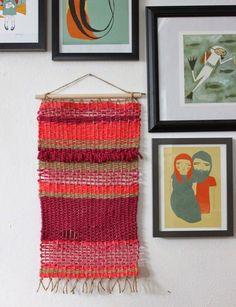Poppytalk: Weekend Project | 10 Weaving Tutorials + Ideas