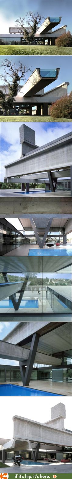 The Hemeroscopium House has not one, but two, amazing swimming pools.