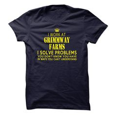 I Work At Grimmway Farms T-Shirt