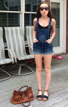I've been looking for adorable overalls like this ).