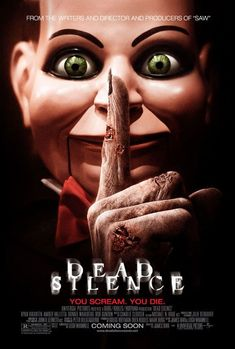 """Carl the Critic: Talks about """"Dead Silence"""" [Caution: Contains Plot Spoilers]"""