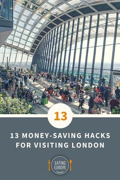 13 Money-Saving Hacks for Visiting London: here some of our best tips for cutting the cost of London, without cutting into the fun. #travel #wanderlust #britain #anglophile