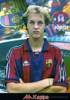 Jordi Cruyff, born 9 February 1974, Dutch attacking midfielder, FC Barcelona (1994-1996), Manchester United (1996-2000), Celta de Vigo (1999, on loan), Deportivo Alavés (2000-2003), RCD Espanyol (2003-2004), FC Metalurh Donetsk (2006-2008) and Valletta FC (2009-2010). He gained 9 caps for the Netherlands national team, playing in the 1996 European Championships. Jordi Cruyff is the son of Dutch former player and manager Johan Cruyff. Jordi played mainly as an attacking midfielder, though he…