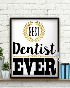 Best Dentist Ever Dentist Gift Gifts For Dentist Dentistry