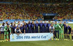 Netherlands' national soccer players pose with their medals after the 2014 World Cup third-place playoff between Brazil and the Netherlands at the Brasilia national stadium in Brasilia July 12, 2014.