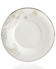 Marchesa by Lenox Dinnerware, Paisley Bloom Saucer