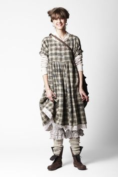 Ewa i Walla Art design AB (Sweden) - Autumn/Winter 2010.   This outfit reminds me of Pippi Longstocking.  :-)