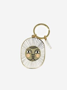 Our brass and enamel keychains make for an eye-catching accessory! Ours is crafted from a high-quality mold made from our original painted artwork. Wearing All Black, Enamel Jewelry, Mold Making, Diy Birthday, Messing, Car Accessories, Etsy, Brass, Personalized Items