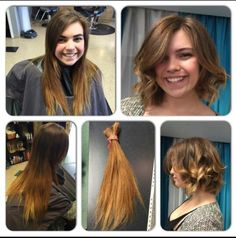 #beforeandafter color & cut by Heather at The Springs Salon and Spa!