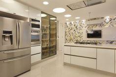 cozinha azulejos cinza amarelo branco revestimentos nobres