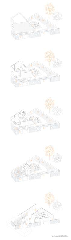 10_Axonometric composition of passangers building