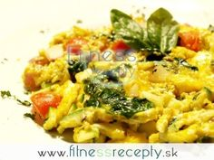 Zdravé fitness recepty - Zeleninová omeleta Risotto, Macaroni And Cheese, Fitness, Food And Drink, Ethnic Recipes, Gout, Bon Appetit, Mac And Cheese, Excercise
