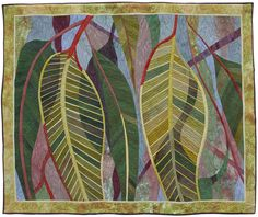 Botanical - Ruth de Vos : Textile Artist