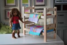 Ana White   Build a Kid's Kit: Doll Bed   Free and Easy DIY Project and Furniture Plans