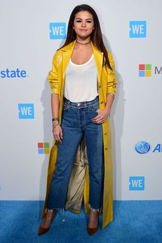35 Stars Who Upped Their Fashion Game In 2016 #refinery29  http://www.refinery29.com/2016/12/134322/best-dressed-celebrities-2016#slide-13  Selena GomezIf there's anyone who can pull off a yellow trench coat without looking all Pierre Escargot, well, it's Selena Gomez. Her style evolution this year made keeping up with the singer that much more fun....