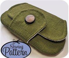$6.00 pocket clutch pattern- downloadable