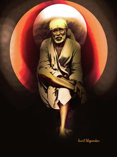 """""""Other people's acts will affect just them. It is only your own deeds that will affect you. Sai Baba Pictures, Sai Baba Photos, God Pictures, Sai Baba Hd Wallpaper, Shiva Wallpaper, Photo Wallpaper, Shirdi Sai Baba Wallpapers, Vaishno Devi, Shiva Photos"""